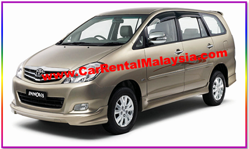 Toyota Innova For Rent Car Rental Malaysia Malaysia Car Rental